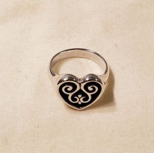French Heart Ring